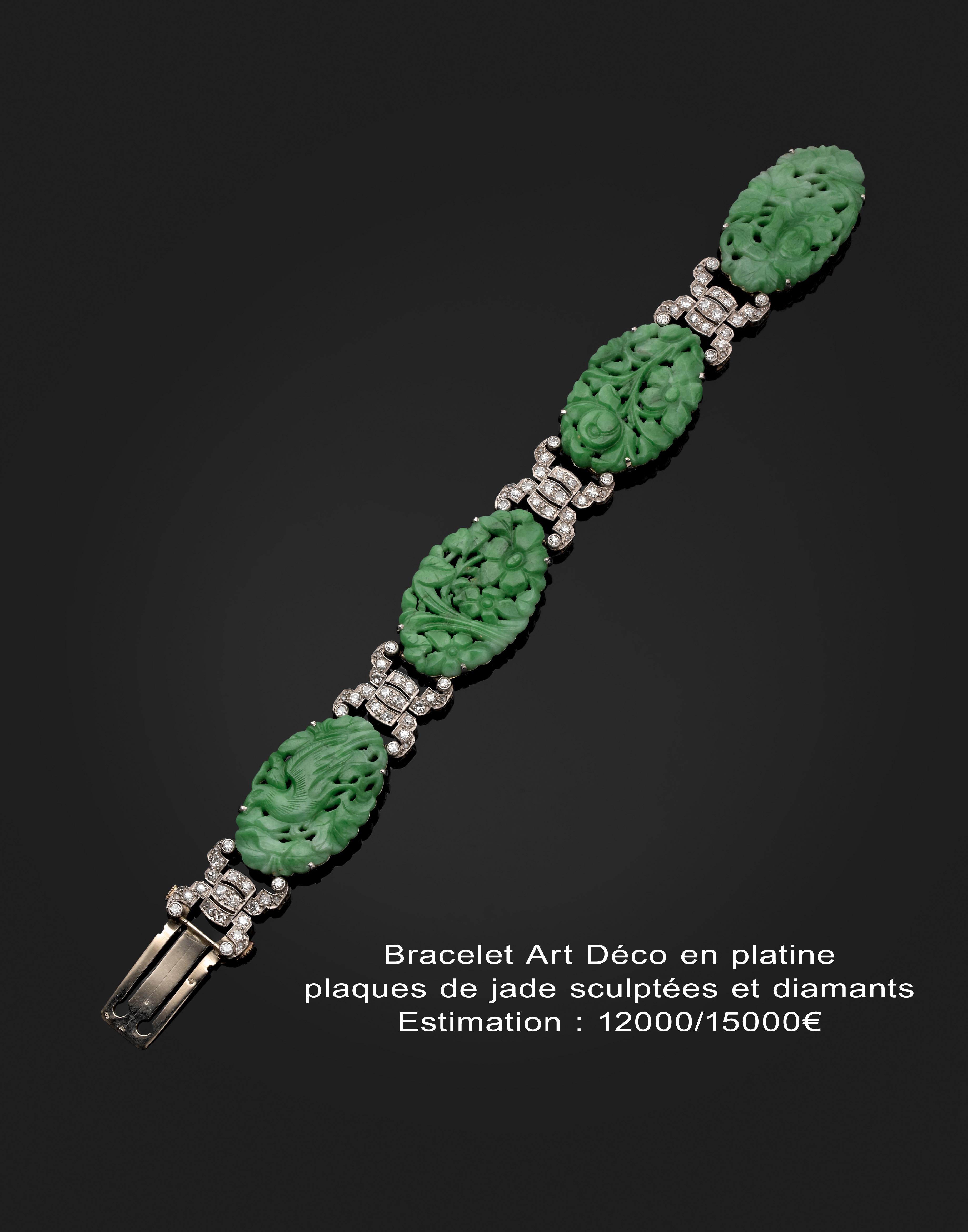 Ventes venir bracelet art deco chantal beauvois for Art et decoration 2012
